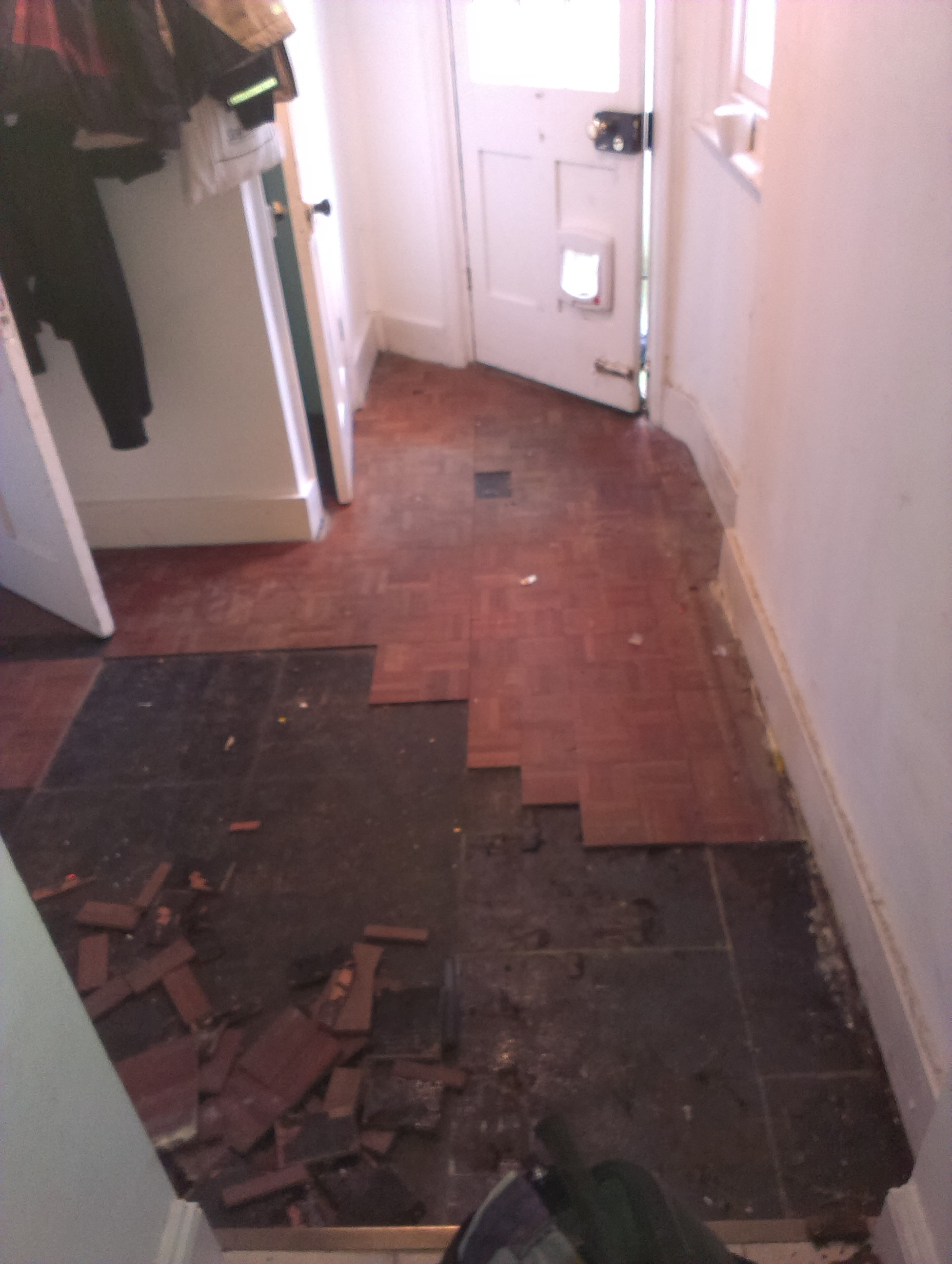 Tiling before parquet floor damaged and lifting following flood dailygadgetfo Choice Image